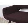 Barcelona кресло-банкетка коричневая