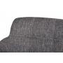 Oliva кресло - банкетка серый