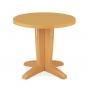 Браво стол пластиковый круглый 80 см тик