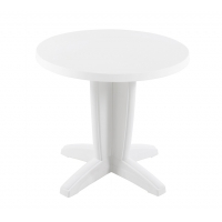Bravo (Браво) стол пластиковый круглый 80 см белый