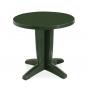 Bravo стол пластиковый круглый 80 см зелёный