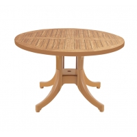 Diva (Дива) стол пластиковый круглый Д120 см тик