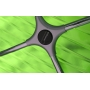 X-Treme S cтул прозрачно-зелёный
