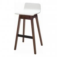 Ava White (Ава Уайт) барный стул деревянный белый