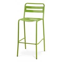 MS-897 барный стул светло-зелёный