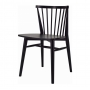 Birdy стул деревянный чёрный