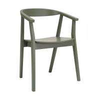 Greta Pickle Green (Грета Пикл Грин) стул серо-зелёный