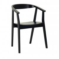 Greta Black (Грета Блэк) стул деревянный чёрный