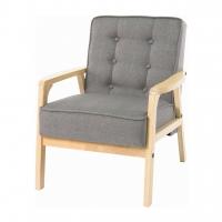 Taylor (Тэйлор) кресло текстиль серый