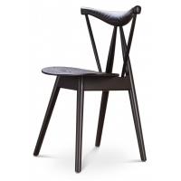 WD-768 стул деревянный чёрный