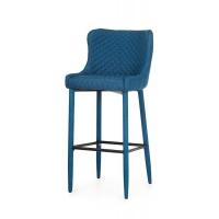 B-120 барный стул синий