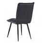 N-130 стул серый вельвет