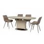 TM-56 стол капучино 140-180 см