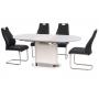 TM-56 стол белый 140-180 см