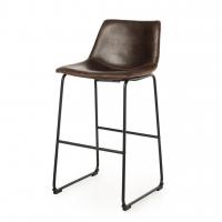 Frogmor (Фрогмор) барный стул кожзам коричневый