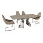 TML-535 стол раскладной 160-200 см латте