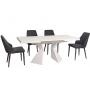 TML-535-2 стол раскладной 140-175 см белый