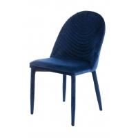 Shenna (Шенна) стул велюр тёмно-синий