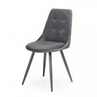 M-19 стул велюр серый