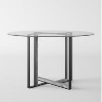 Ink Round Glass (Инк Раунд Гласс) обеденный стол