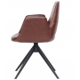 Bowie кресло поворотное коричневое