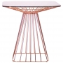 Tern обеденный стол розовое золото