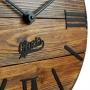 Nevada Mokko деревянные настенные часы