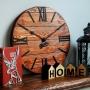 Nevada Rust деревянные настенные часы