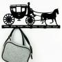 Carriage вешалка настенная