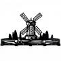 Windmill вешалка настенная