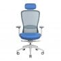 In-Point компьютерное кресло голубой + светло-серый