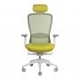 In-Point компьютерное кресло салатовый + светло-серый