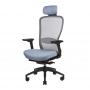 In-Point компьютерное кресло серый + чёрный