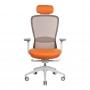 In-Point компьютерное кресло оранжевый + светло-серый