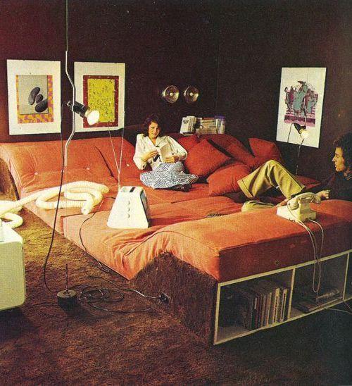 Радикальный итальянский дизайн 1970-е